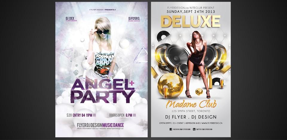 night club flyer design toronto event flyers burlington