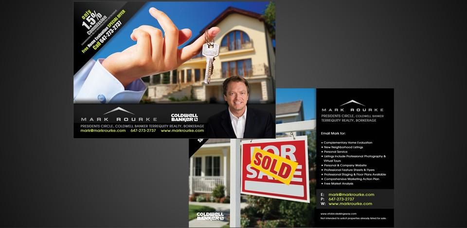 real estate fliers